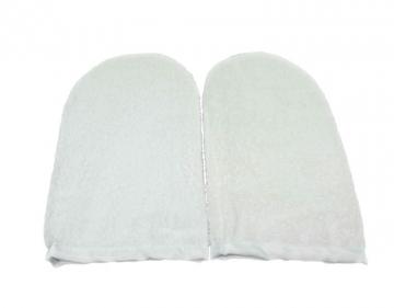 Махровые утеплители для рук (Белые)